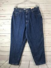 FADED GLORY Plus Sz 18W Petite Relaxed Fit Tapered Mom Jeans NWT 34x28