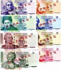 Transnistria, SPECIMEN SET 1;5;10;25;50;100;200,500 UNC