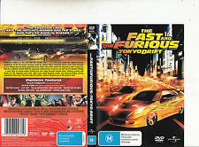 The Fast And The Furiose Tokyo Drift-2006-Lucas Black-Movie-DVD