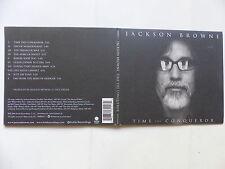 CD Album JACKSON BROWNE Time the conqueror INR8092-3