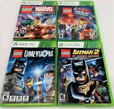 4 Xbox 360 Lego: Dimensions, Batman 2, Super Heroes, The Movie