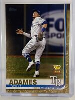 Willy Adames Rookie Cup 2019 Topps Series 2 #562 Gold #d/2019 Rays