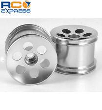 GPM Racing Losi Mini-T Aluminum Silver Gunslinger Front Wheels SMT0605F/L