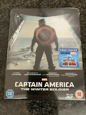 Captain America: The Winter Soldier - 3D/2D Blu-ray Steelbook - Zavvi Exclusive