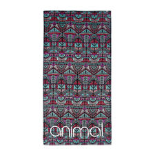 ANIMAL WOMENS BEACH TOWEL.NEW NESSIE LARGE PRINTED COTTON VELOUR MAT 8S 300 279