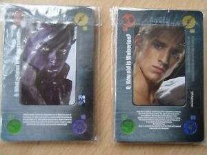 """X-Men """"The Last Stand Battle""""  Cards x2 (From The Mail On Sunday 2006)"""