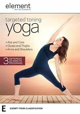 Element - Targeted Toning Yoga DVD R4 New & Sealed