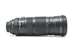 Sigma 120-300mm f2.8 APO DG HSM OS Lens for Nikon DSLR Camera Body