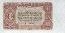 Tschechoslowakei 10 Kronen 1953 Pick 083 (1)