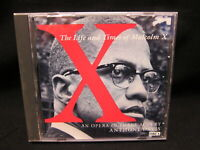 Anthony Daivs - X, The Life and Times of Malcolm X - 2CDs - NM - New Case!!!!!