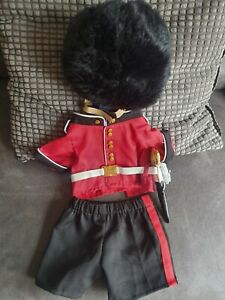 Build a Bear Queens Royal Guard Soldier outfit