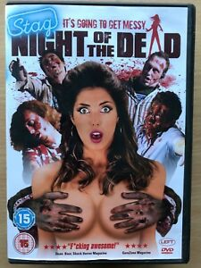 Stag Night of the Living Dead DVD 2011 British Party Zombie Comedy Horror Movie
