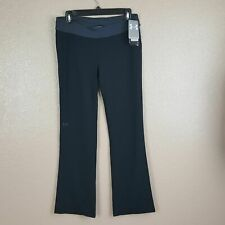 Under Armour Exercise Pants Nwt Youth Girl's Size Xl Heat Gear Black Gray Dq16