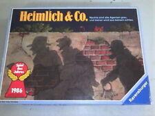 HEIMLICH & CO super classique des jeux de bluff Ravensburger - nickel
