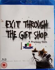Exit Through The Gift Shop (Documentary) Blu-Ray 2010 New and Sealed