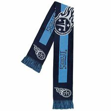 Tennessee Titans Scarf Knit Winter Neck - Double Sided Big Team Logo New 2016