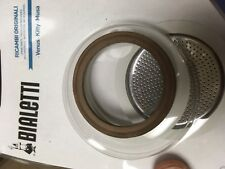 Bialetti Stainless Steel Gasket Filter Plate Replacement Parts, 4-Cup Venus,