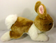 "Nat & Jules Hippity  9"" R$16.99 NWT Tan & White Bunny NOO209 Demdaco"