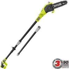 Ryobi Cordless Pole Saw Pruner 8 in. 18-Volt Lithium-Ion Adjustable (Tool Only)