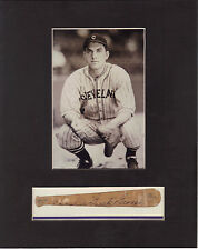 Charlie George Signed with photo Cleveland Indian COA R2/17
