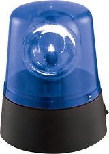 Faro Ibiza LED mini Azul Batería Luz de policía Efecto Iluminación Dj Discoteca