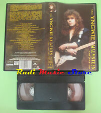 VHS YNGWIE MALMSTEEN The collection 1992 POLYDOR 084 996-3 no cd mc dvd lp(VM4)