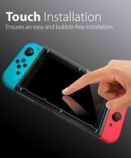 Nintendo Switch Screen Protector, Fosmon TOUCH HD Clear Tempered Glass