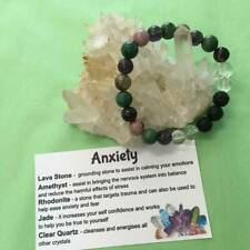 Anxiety Relief Healing Crystal Gemstone Bracelet