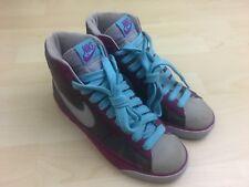 Nike Women's Sz 6.5 Blazer High Top Shoes Sneakers Reflective Purple 317808-501