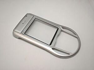 Original Nokia 6630 Front Cover Silver 9467136