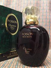 Vintage 1991 Dior Poison FULL 1.7 oz 50 ml Eau de Toilette Spray OLD FORMULA