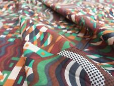 John Lewis cotton 100%, 'Gustav Klimt C', brown, (per metre) dress fabric