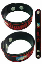 Limp Bizkit New! Rubber Bracelet Wristband Free Shipping! aa45 Red Gold Cobra