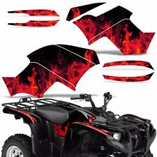 Graphic Kit Yamaha Grizzly 550/700 ATV Quad Decal Sticker Wrap 2007-2014 ICE RED