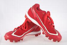 502ed235e Boys Under Armour Leadoff III Baseball Cleats ~ Used Cleaned ~ Red White  ~Sz 2.5