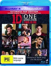 One Direction - This Is Us (Blu-ray, 2013) REGION B PAL NEW FREE POST