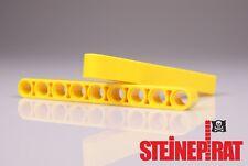 LEGO® 2x 40490 (-NEU-) Technic Liftarm / 1x9 lang / breit / gelb / 4187136