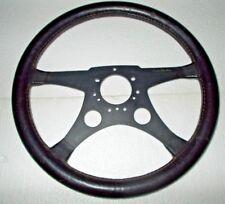 Volante pelle Nuccio Bertone 34,5 cm: ottimo (V45)