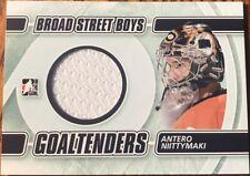 2011-12 ITG Broad Street Boys Goaltenders Jerseys Antero Niittymaki #'d /50