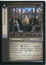 Lord Of The Rings CCG Card TTT 4.U27 Living Off Rock
