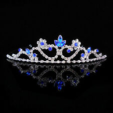 Kids Flower Girl Children Wedding Prom Tiara Crown Headband Kid Size - 10 Colors