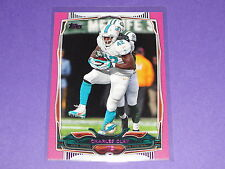 2014 Topps CHARLES CLAY #129 Pink SP/499 Dolphins - Bills TULSA Golden Hurricane