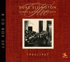 Carnegie Hall Concerts: 1943-1947 - Duke Ellington (2010, CD NUEVO)8 DISC SET