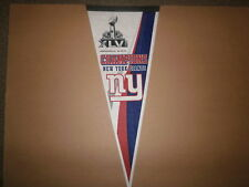 NFL New York Giants SUPER BOWL XLVI CHAMPIONS PENNANT