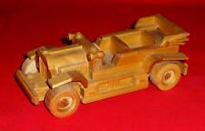 Modellauto Cabrio Oldtimer aus Holz  Länge 17cm  geölt