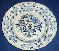 Alter Zwiebelmuster Teller indischblau Indisch Blau Plate Platte Speiseteller