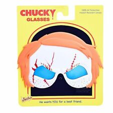 Sun-Staches Chucky Movie Character Shades Sunglasses Killer Doll Ginger