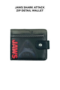 Jaws Shark Attack Zip Detail Wallet