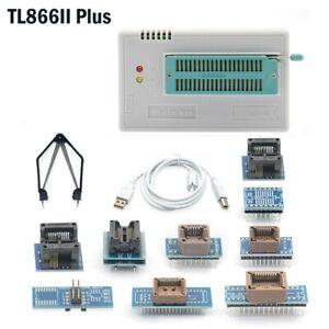 Universal Original TL866II PLUS USB Minipro Programmer EEPROM FLASH 8051 AVR MCU