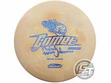 USED Discraft LE ESP Glo Comet 180g Tan Blue Foil Midrange Golf Disc